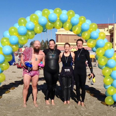 Santa Cruz Will Swim for Food Charity Swim